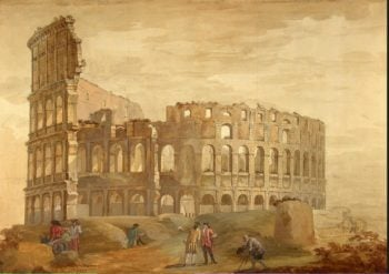 Colosseum in Rome | Clerisseau Charles-Louis | oil painting