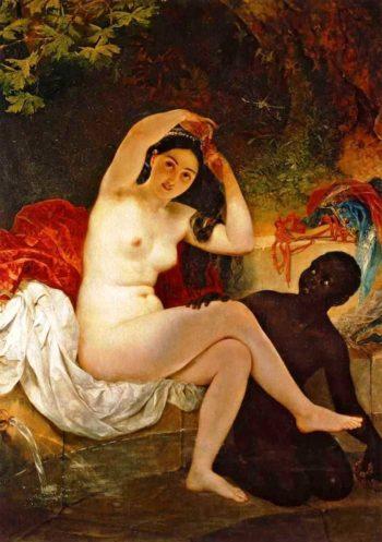 Bathsheba 1832 | Karl Brulloff | oil painting