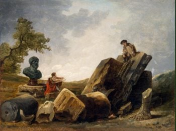 Painters | Hubert Robert | oil painting