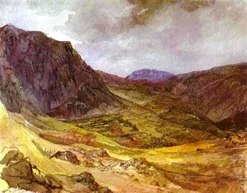 Delphi Valley 1835 | Karl Brulloff | oil painting