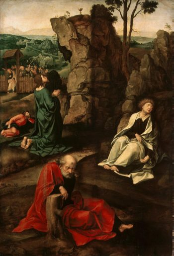 Agony in the Garden | Coeck van Aelst Peter | oil painting