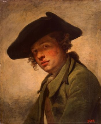 Portrait of a Young Man in a Hat   Greuze Jean-Baptiste   oil painting