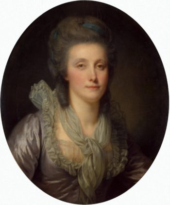 Portrait of Countess Ekaterina Shuvalova   Greuze Jean-Baptiste   oil painting