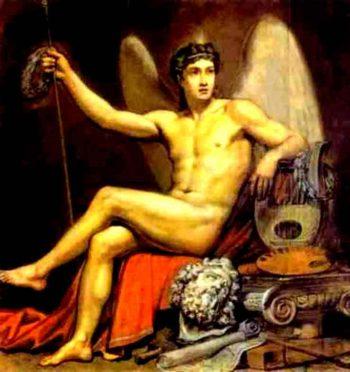 Genius of Art 1817 1820 | Karl Brulloff | oil painting