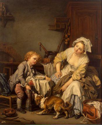 Spoiled Child   Greuze Jean-Baptiste   oil painting