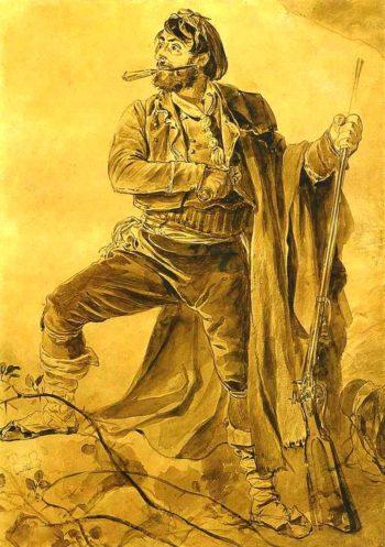 Greek insurgent Date unknown | Karl Brulloff | oil painting