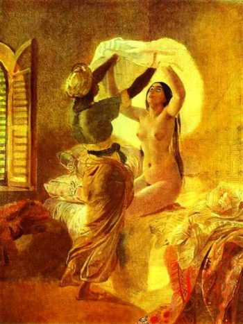 In a Harem 1850 1852 | Karl Brulloff | oil painting