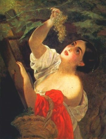 Italian Midday 1825 1830 | Karl Brulloff | oil painting