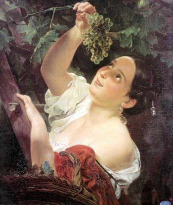Italian Midday 1827 | Karl Brulloff | oil painting