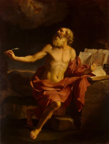 St Jerome in the Wilderness | Guercino (Giovanni Francesco Barbieri) | oil painting