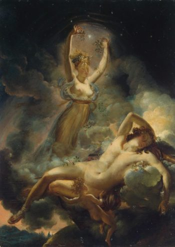 Aurora and Cephalus | Guerin Pierre Narcisse | oil painting
