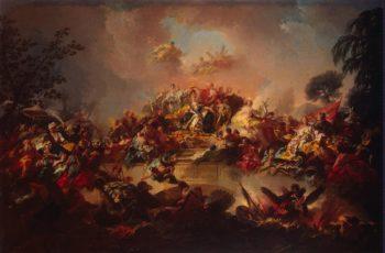 Apotheosis of the Reign of Catherine II | Guglielmi Gregorio | oil painting