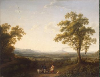 View of Caserta | Hackert Jakob Philipp | oil painting