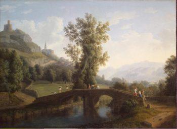 View of Montesarchio | Hackert Jakob Philipp | oil painting