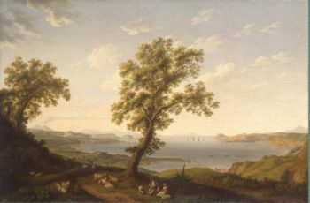 View of the Bay of Baja | Hackert Jakob Philipp | oil painting