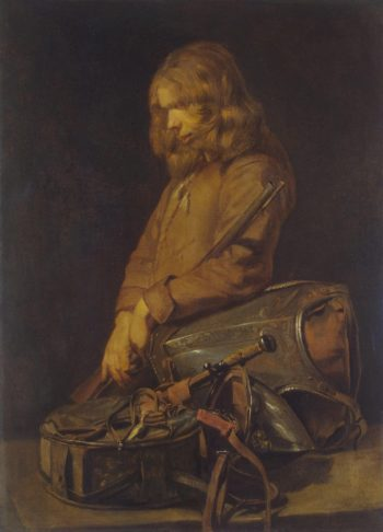 Young Soldier | Hals Frans II | oil painting