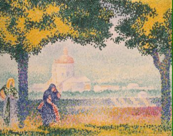 Church of Santa Maria degli Angely Near Assisi | Cross Henri Edmond | oil painting