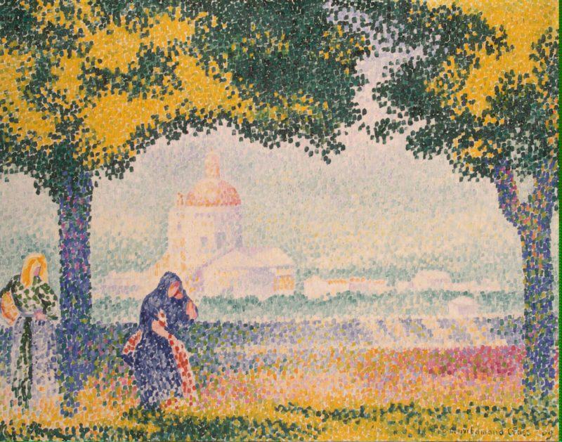 Church of Santa Maria degli Angely Near Assisi | Cross Henri Edmond | oil painting