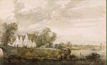 View of Schraven-Deel | Cuijp Aelbert | oil painting