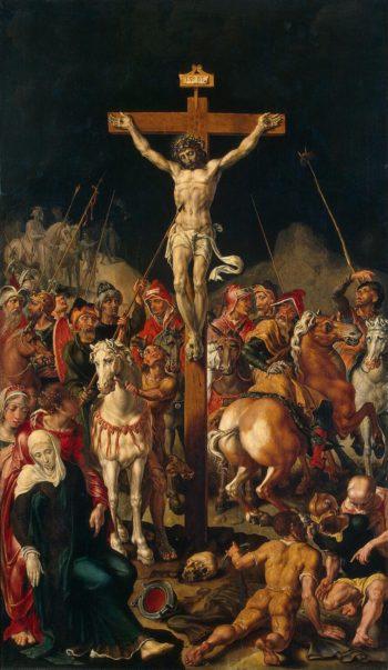 Calvary (Triptych) | Heemskerck Maarten van | oil painting