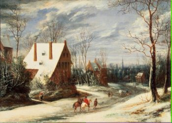 Winter Landscape | Heil Daniel van | oil painting