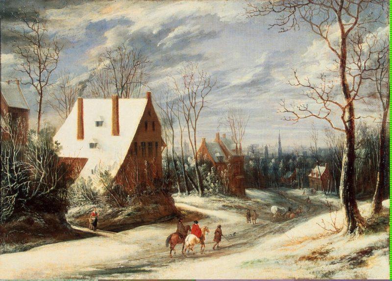Winter Landscape | Heil Daniel van | oil painting