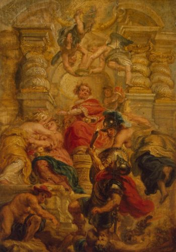 Peaceful Ruling of Jacob I | Pieter Paul Rubens(workshop) | oil painting
