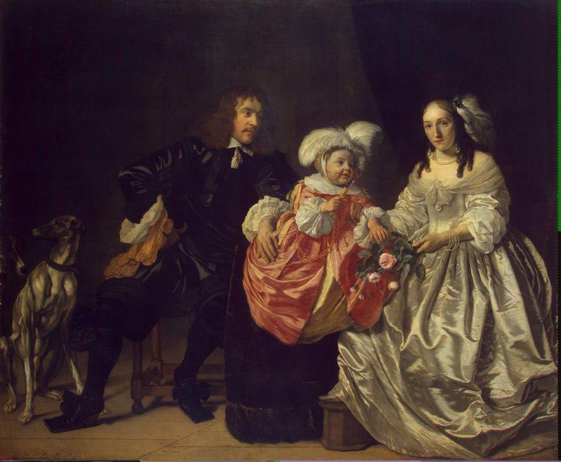 Family Portrait   Helst Bartholomeus van der   oil painting