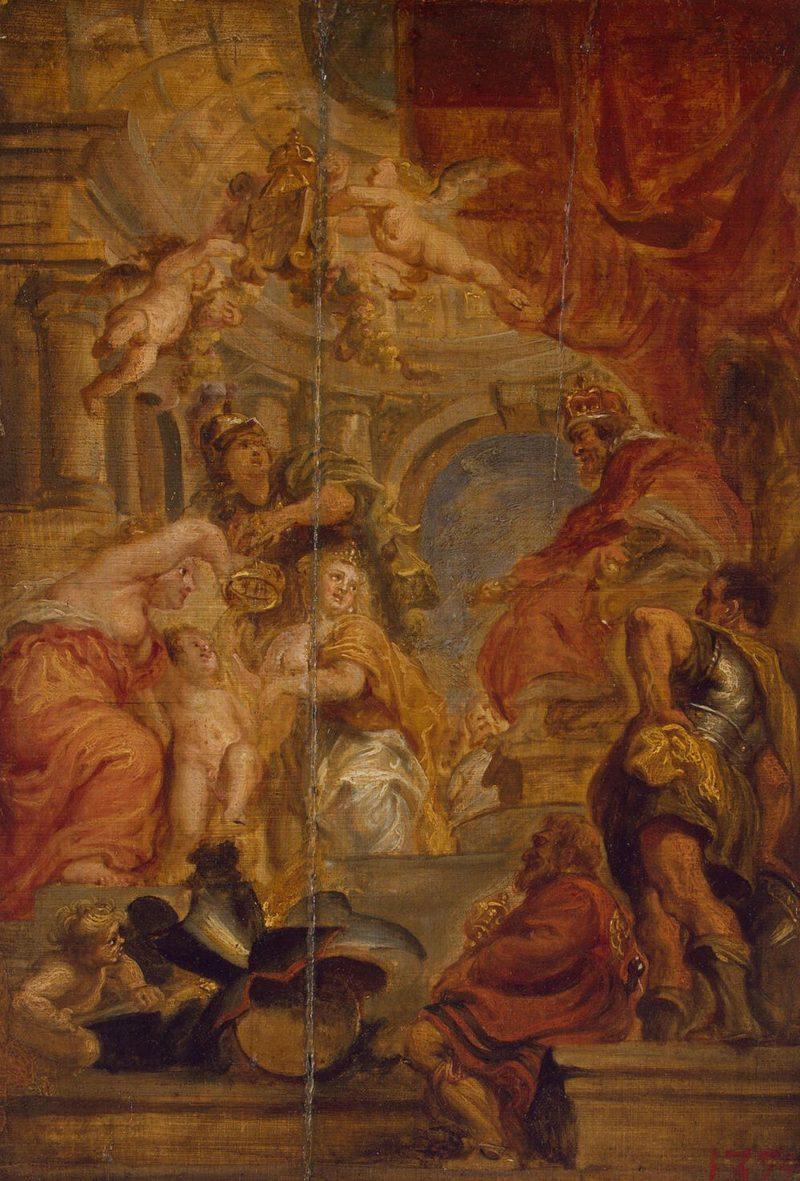 Uniting of Kingdoms | Pieter Paul Rubens(workshop) | oil painting