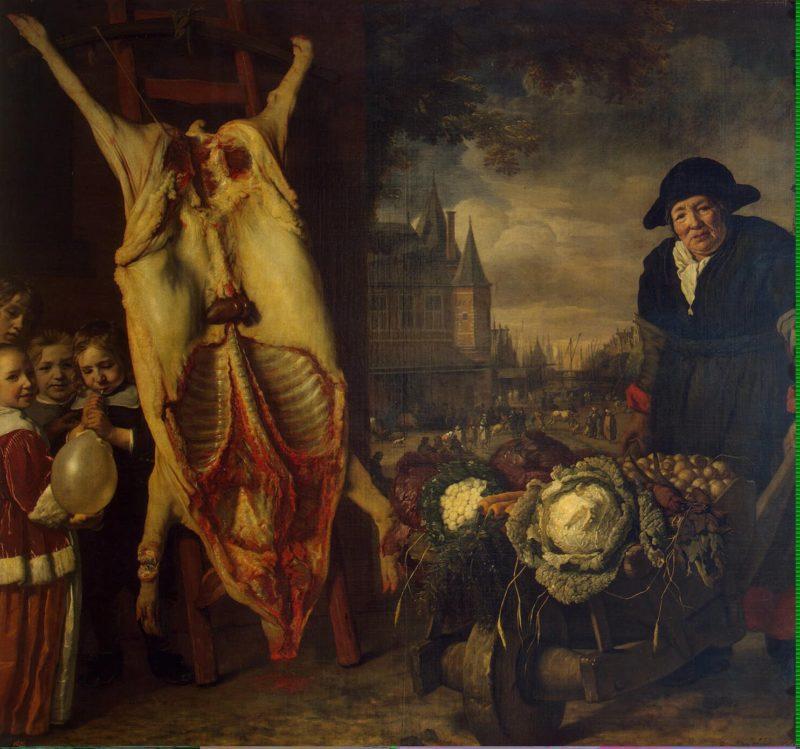 Nieuwmarkt in Amsterdam | Helst Bartholomeus van der | oil painting