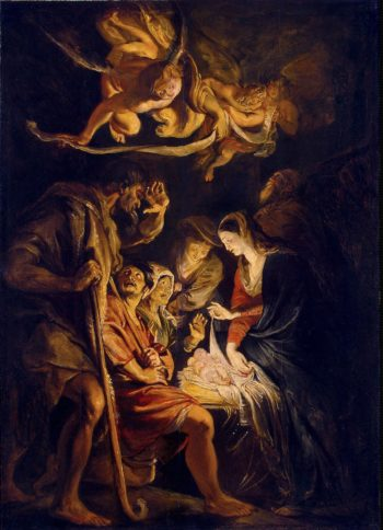 Adoration of the Shepherds | Pieter Paul Rubens | oil painting