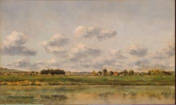 Banks of the Oise | Daubigny Charles-Francois | oil painting