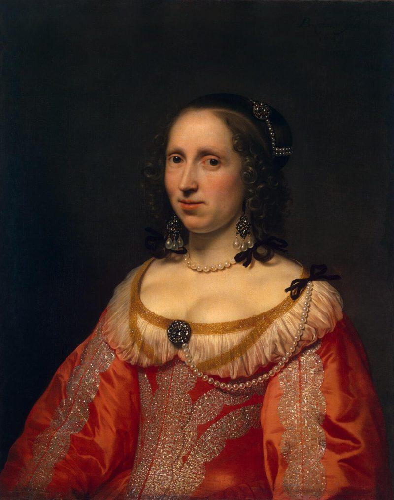 Portrait of a Woman | Helst Bartholomeus van der | oil painting