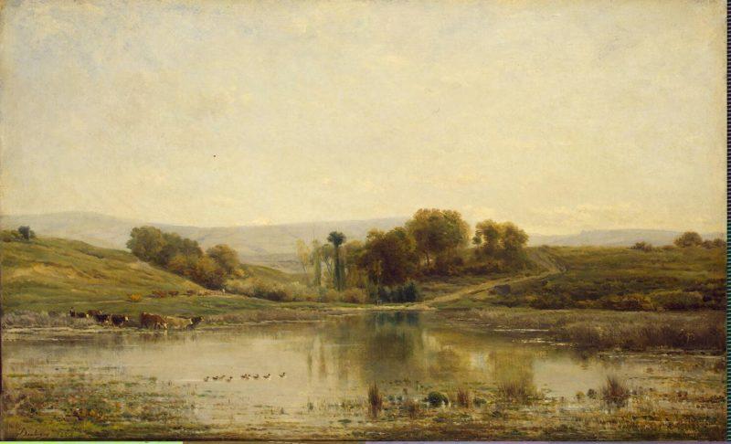 Pool | Daubigny Charles-Francois | oil painting