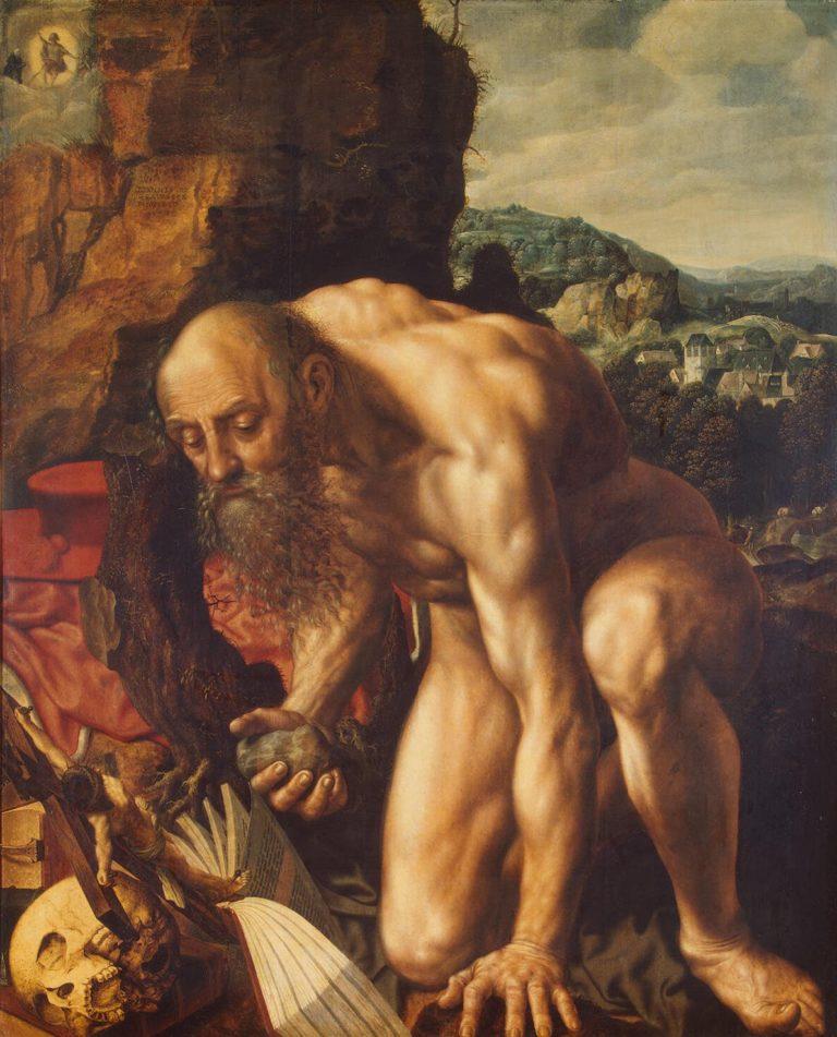 St Jerome | Hemessen Jan Sanders van | oil painting