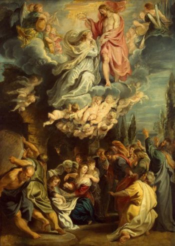 Coronation of the Virgin | Pieter Paul Rubens | oil painting
