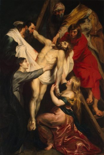Descent from the Cross   Pieter Paul Rubens   oil painting