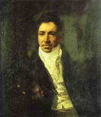 Portrait of the Secretary of State Piotr Kikin 1821 1822 | Karl Brulloff | oil painting