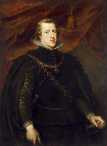 Portrait of King Philip IV | Pieter Paul Rubens | oil painting