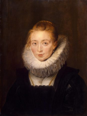 Portrait of Lady-in-Waiting to the Infanta Isabella | Pieter Paul Rubens | oil painting