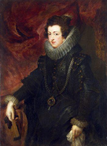 Portrait of Queen Elizabeth | Pieter Paul Rubens | oil painting
