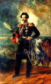 Portrait of V A Perovsky 1837 | Karl Brulloff | oil painting