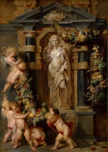 Statue of Ceres | Pieter Paul Rubens | oil painting