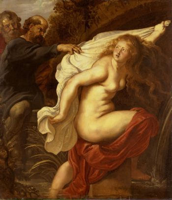 Susanna and the Elders | Pieter Paul Rubens | oil painting