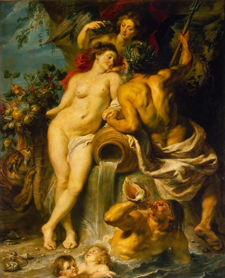 Union of Earth and Water (Antwerp and the Scheldt) | Pieter Paul Rubens | oil painting