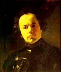 Portrait of Ya F Yanenko with Armour 1841 | Karl Brulloff | oil painting