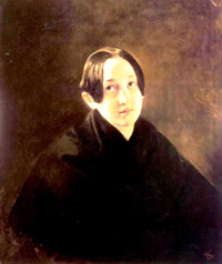 Portrait of Ye I Durnova 1836 | Karl Brulloff | oil painting