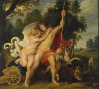 Venus and Adonis | Pieter Paul Rubens | oil painting