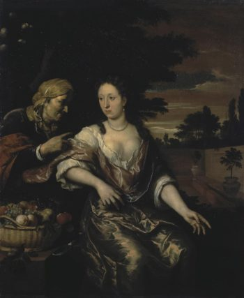 Vertumnus and Pomona | Hoet Gerard | oil painting