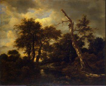 Rivulet in a Forest | Ruisdael Jacob Isaaksz van | oil painting